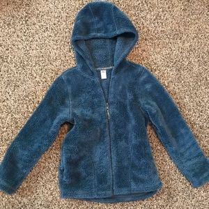 Other - Fuzzy girls jacket medium size 8